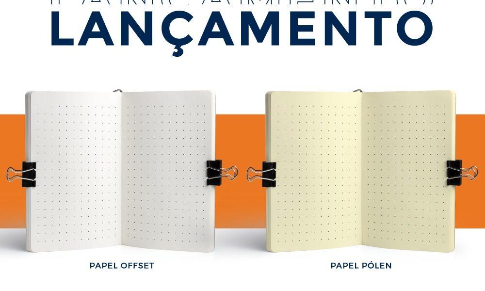 Lançamento papel offset pontilhado cópia
